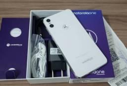 Motorola one 64gb novissimo, com nota e garantia ate 2020