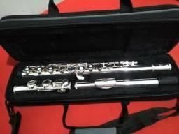 Flauta transversal vazada Nova