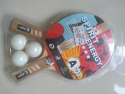 Jogo de Raquete com bolas Ping-Pong