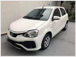 Toyota Etios X 1.3 -2019 (Flex) (Aut)-Único Dono - 2019
