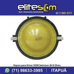 Reparo P/Driver D200 Selenium Jbl e P/Super Tweeter St200 Selenium na Elite Som comprar usado  Salvador
