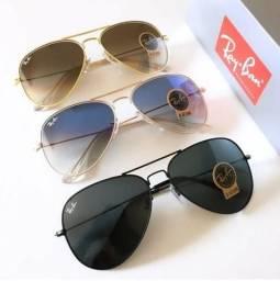 Rayban Diversos Modelos de Óculos de Sol Feminino e Masculino