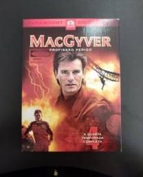 Box Macgyver 4ª Temporada Completa - Original
