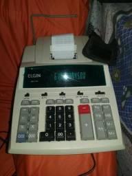Calculadora Elgin com impressão (usada)