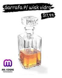 Garrafa para wisk vidro