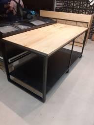 Mesa estilo industrial e outros fabricação  por encomenda