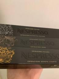 30 cápsulas Nespresso caixas lacradas