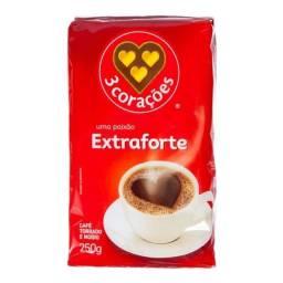 """""""Café a vácuo 3 corações extraforte """""""
