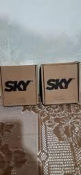 Vendo esses dois aparelhos da Sky pré-pago