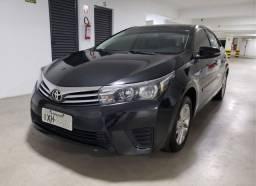 Barbada Toyota Corolla 2017 Automático Couro Manual e Chave Reserva Revisado GNV