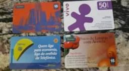 Cartões Telefonicos para Colecionador