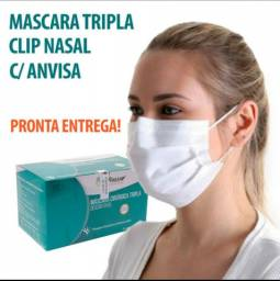 Máscara Descartável Cirúrgica Tripla