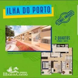 Apartamento na planta com 2 dormitórios à venda, 45 m² por R$ 100.300 - Campo Verde - Sant