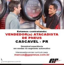 Título do anúncio: Vendedor atacadista de pneus