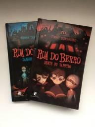 Título do anúncio: Livro Rua do Berro - Vol. 1 e 2