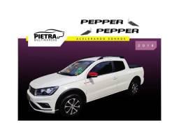 Título do anúncio: Volkswagen Saveiro 2018 1.6 msi pepper cd 8v flex 2p manual