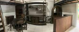 Conjunto de Móveis Rústicos de Madeira Maciça