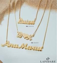 Título do anúncio: Semi jóias Lapidare e acessórios