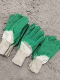 Luva nitrílica/ proteção química