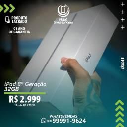 ( TODAS AS CORES ) - IPAD 8 LACRADO+GARANTIA  ( CAPACIDADE: 32GB MODELO COM WIFI )
