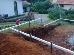 Casas pre fabricada e alvenaria