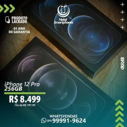 IPHONE 12 PRO ( 1 ) ANO DE GARANTIA ( 5G, 256GB ) - CORES: GOLD/AZUL/PRATA