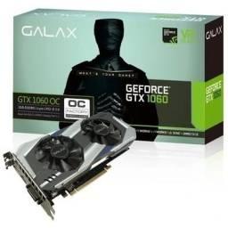 Título do anúncio: troco Placa de Vídeo Galax nvidia GeForce gtx 1060 oc 3GB