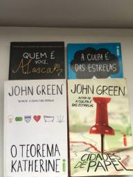 Título do anúncio: Kit de Livros John Green Novos e Usados