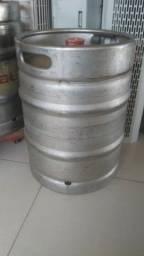 Barril De Chopp Inox 50 Litros - Barril P/ Chope Usado Vazio