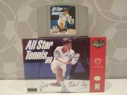 Jogo Original - All Star Tennis '99 - Nintendo 64 - N64
