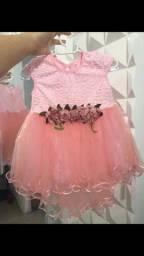Título do anúncio: Vestido rosa