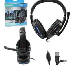 Headset Gamer Para Celular Xbox One e Playstation 4