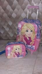 Mochila da Barbie c/ lancheira