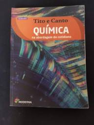 Livro Didático de Química Vol. Único, Tito e Canto Usado - Editora Moderna