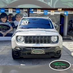 Jeep Renegage Sport  Automático Prata 2020 31.069km Flex/GNV Completo
