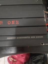 Título do anúncio: Pawer one 600w 2400watts 4ch