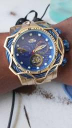 Relógio Venom dourado Novo e entrega grátis