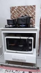 Fogão cooktop Philco com bancada