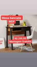 BANCADAS EM MDF NOVAS MONTAGEM GRATUITA