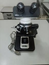 Microscópio Nikon ys2 e E200