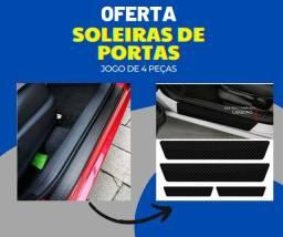 Título do anúncio: Adesivo Soleira De Porta Universal - Para Carro