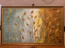Quando do Artista Hildebran - pintura a óleo sobre tela