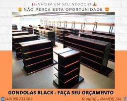 Gôndolas Black direto do fornecedor - Grupo SA | Matheus