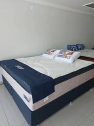 Cama Box Queen Novo na Loja (Gazin)