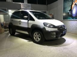 Fiat Idea Branco 2014.