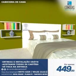 Título do anúncio: Cabaceiras de cama com prateleiras  ( Entrega grátis)