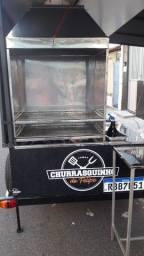 Vende-se ou Aluga-se reboque para churrasquinho