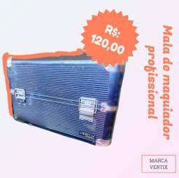 Vendo Maleta De Maquiador Profissional - Preta VERTIX