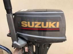 """Título do anúncio: MOTOR DE POPA SUZUKI 15HP  """"O MAIS NOVO DO BRASIL"""""""