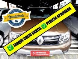 Renault Duster 2.0 16V Dyn (Aut) (Flex) 2017 + Couro + Midia Navi + Piloto automático - 2017